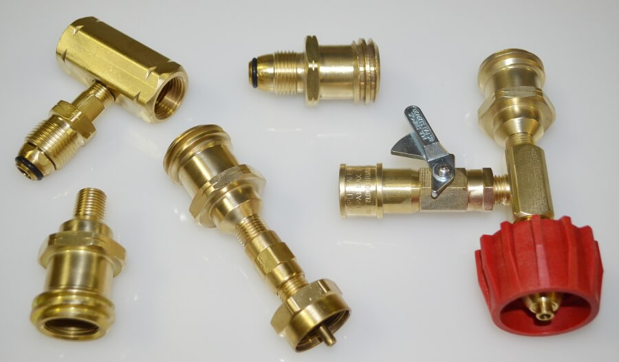 Brass Fittings Values Brass Nipples Disposable Cylinder