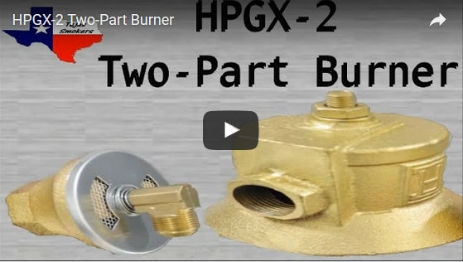 HPGX-2 High Pressure Propane Two-Part Burner
