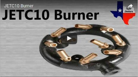 6in Diameter Jet Burner