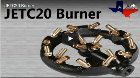 8in Diameter Jet Burner