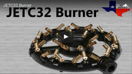 10in Diameter Jet Burner