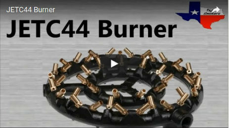 14in Diameter Jet Burner