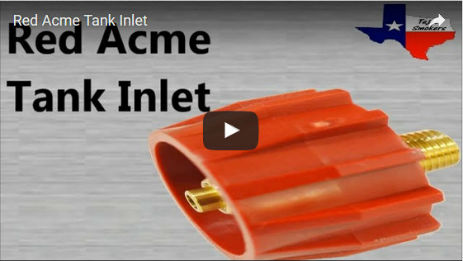 Red Acme Tank Inlet