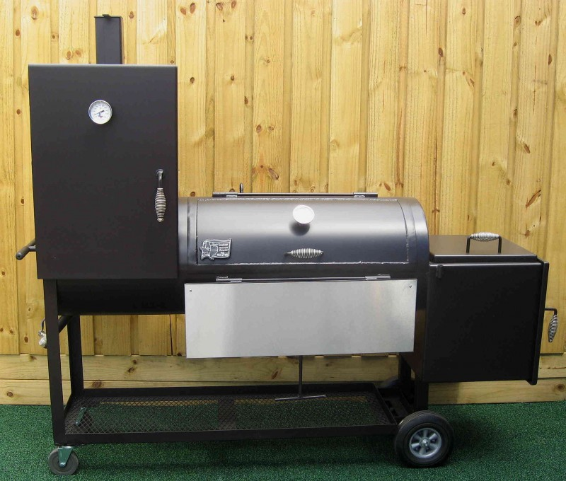 2040CC Deluxe Classic Chef BBQ Smoker Pit