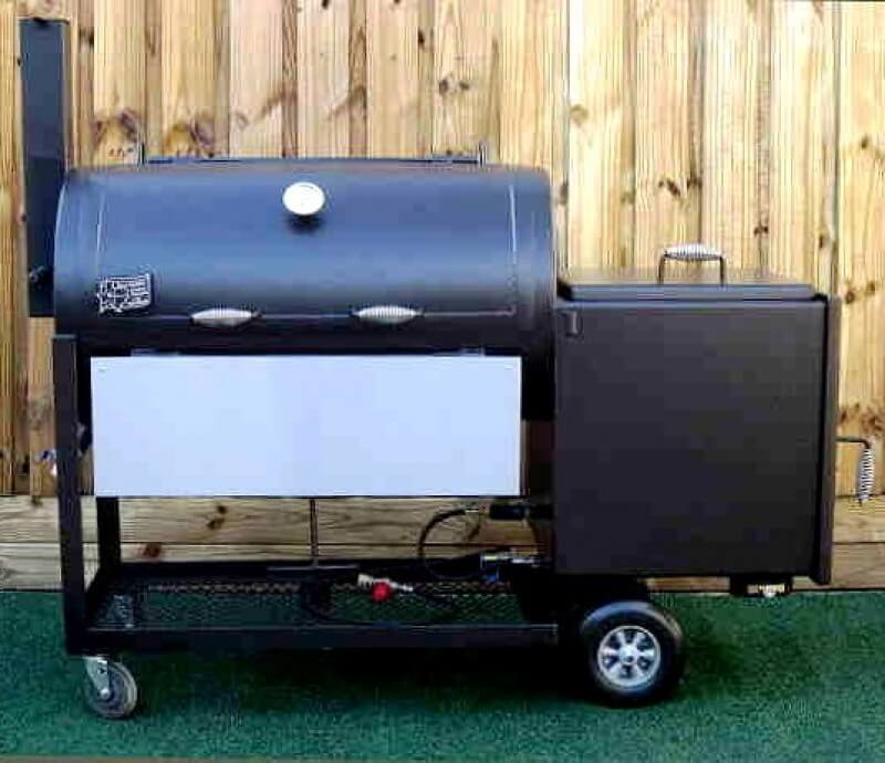 2442 Deluxe BBQ Smoker Pit