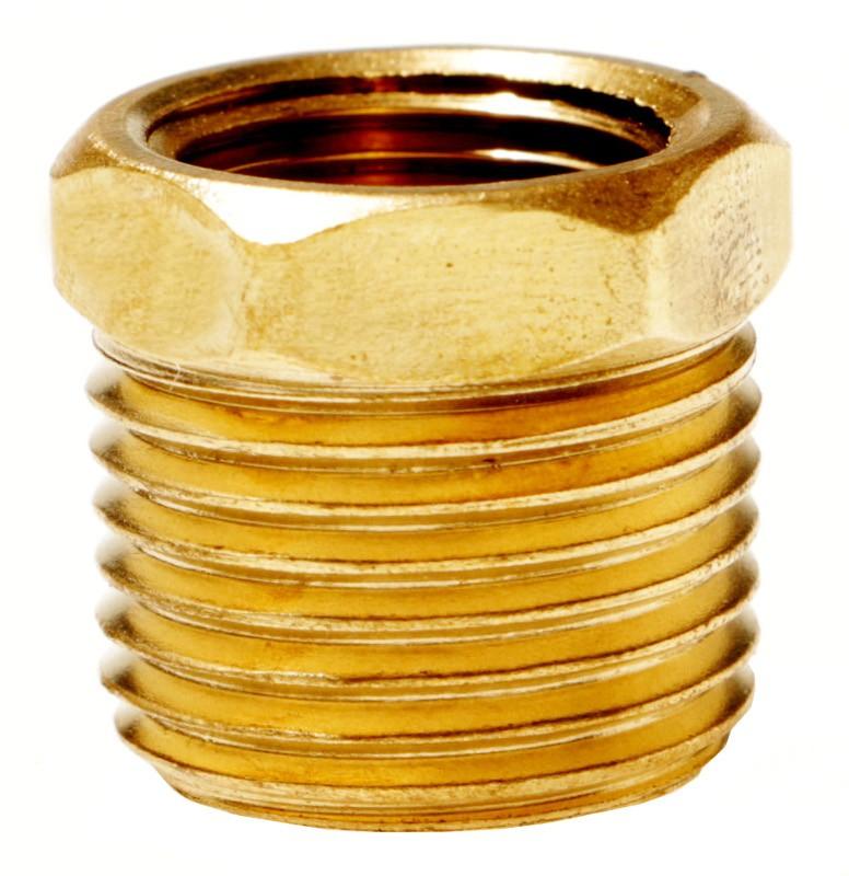 Brass MNPT x FNPT Bushing