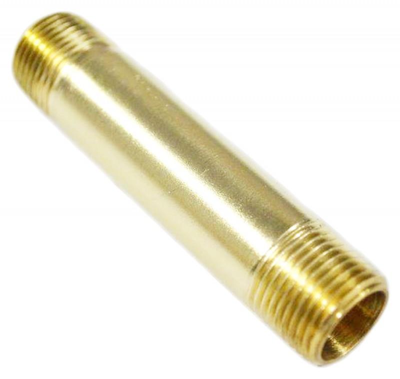 "3/8"" Brass Pipe Nipple"