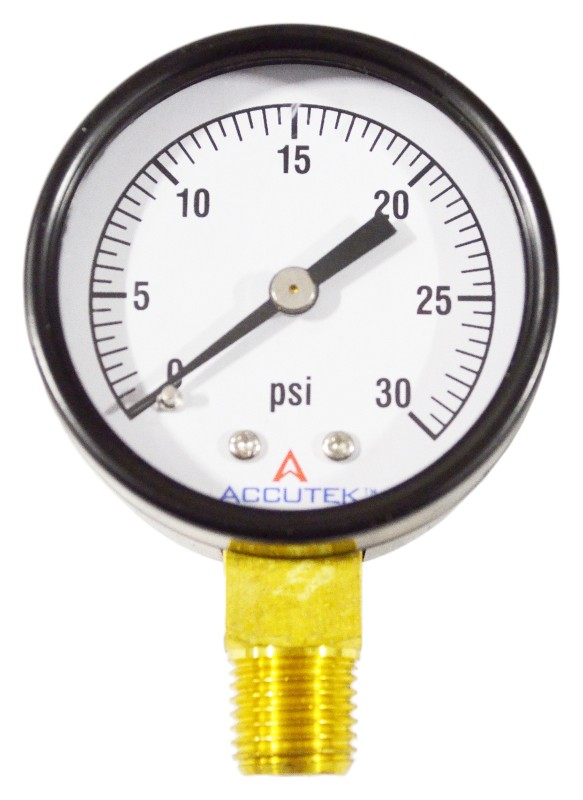 PSI Pressure Gauge for Propane Gas Pressure Regulator
