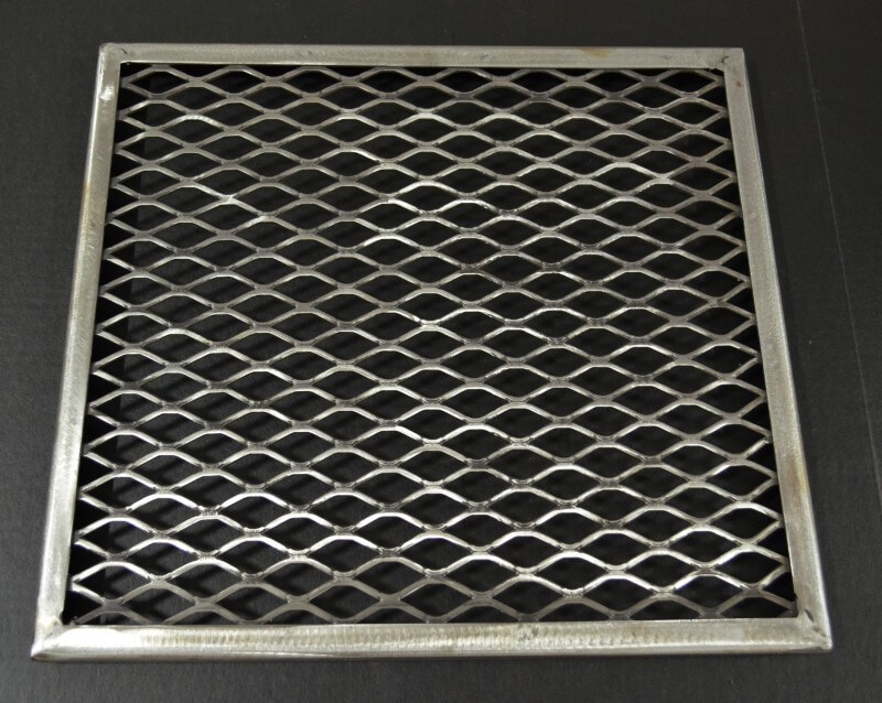 FRAMED, Firebox, Slide-Out Upper Cooking Grate for 1628CC DELUXE ONLY