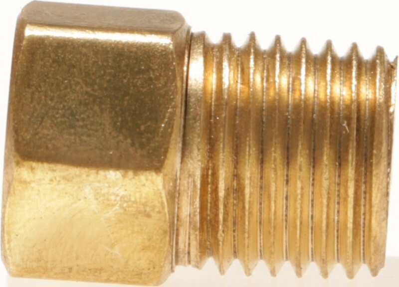"""1/4 Female Inverted Flare x 1/4""""  Male NPT Adapter"""