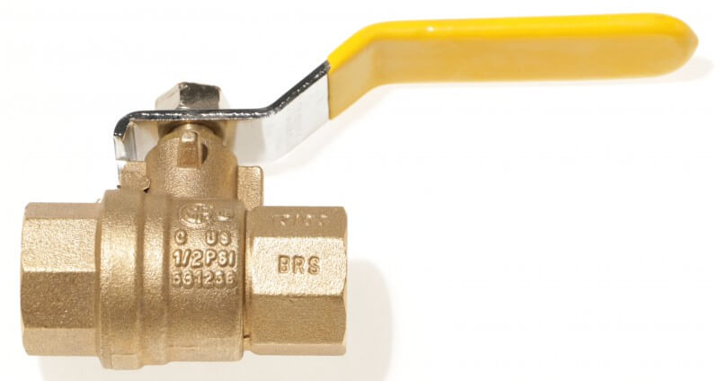 AGA-Approved Brass Ball Valve