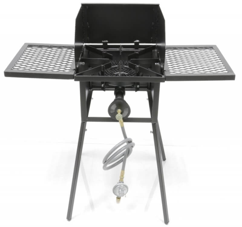"Cooker Stand with 8"" Diameter 75,000 btu/hr Burner COMBO"