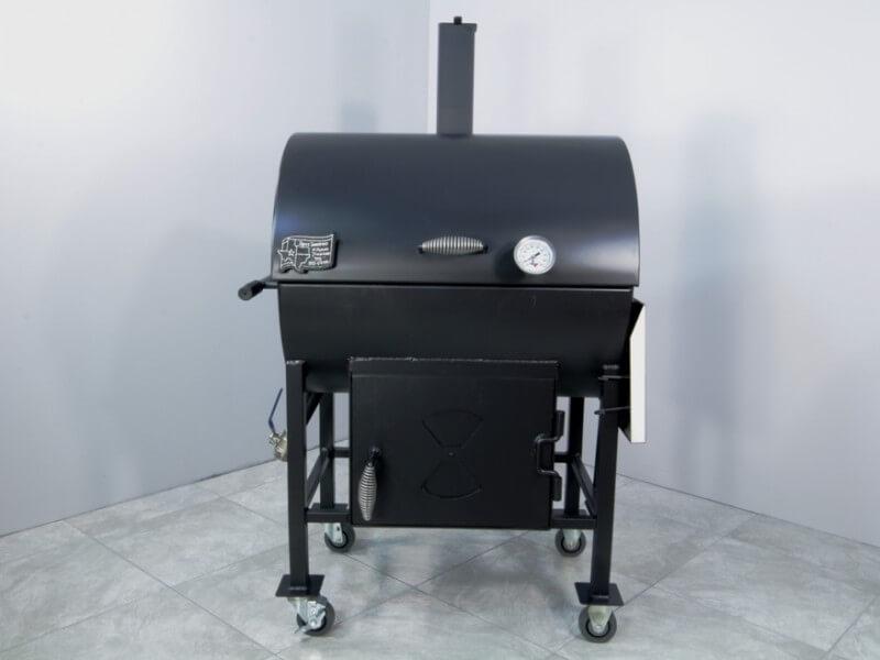 2430 Combo BBQ Smoker Pit