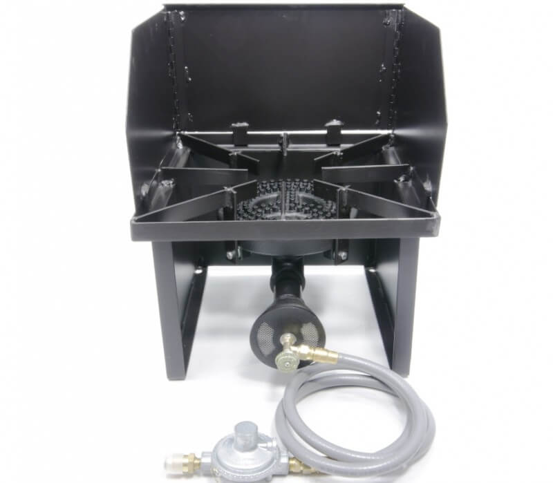 "Hot Plate Cooker with 8"" Diameter 80,000 btu/hr Burners, Combo Package"