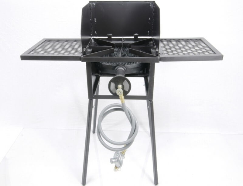 "Single Burner Cooker Stand with 12"" Diameter Burner COMBO"