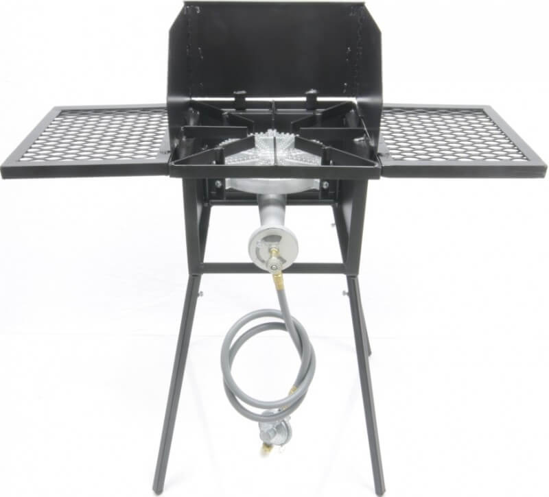 "Cooker Stand with 10"" Diameter 100,000 btu/hr Burner COMBO"