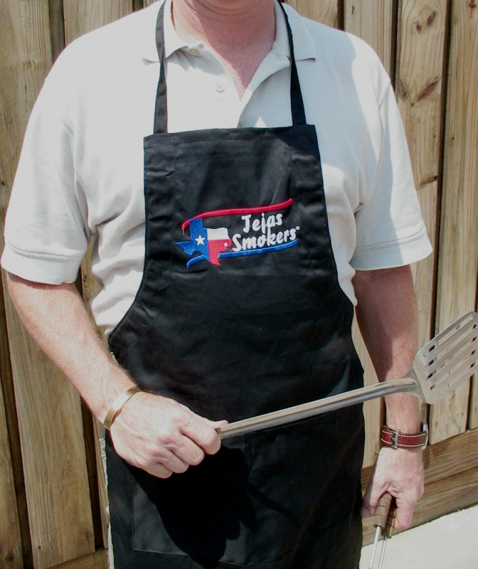 Tejas Smokers Chefs Apron