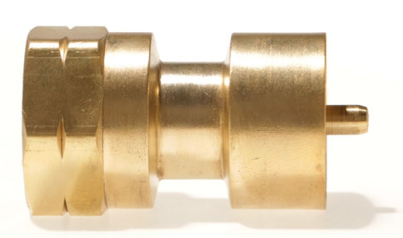 """Female #600 Disposable Cylinder Adapter - 1"""" x 20 TPI x Female POL"""