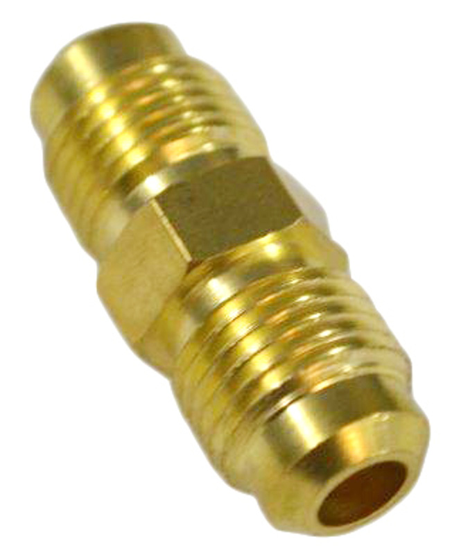Male SAE Gas Flare x  Male SAE Gas Flare Brass Adapter