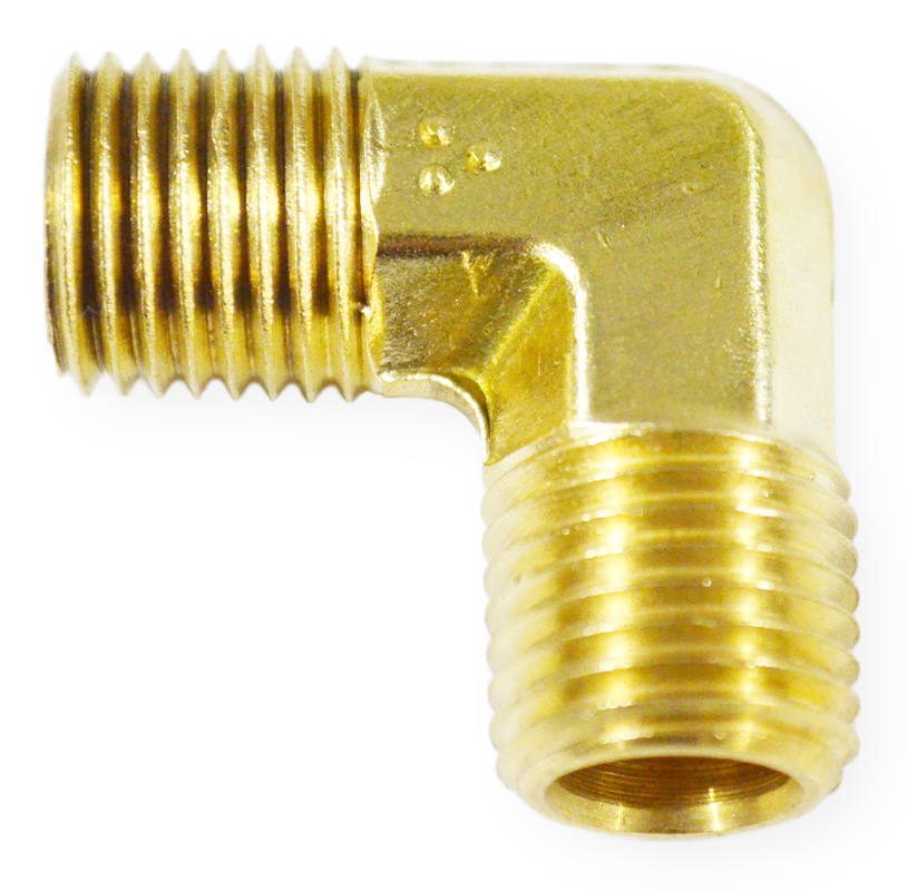 Male NPT x Male NPT 90°  Orifice Fitting  Size #61