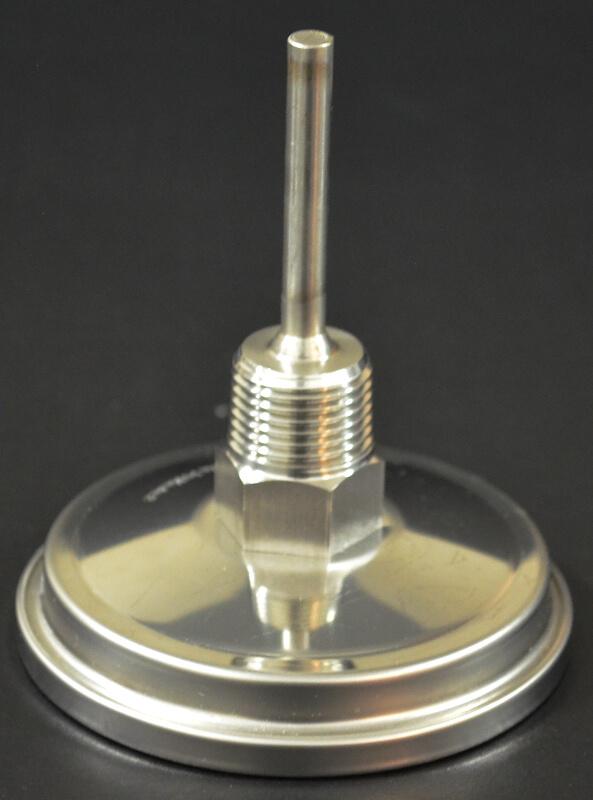 Tejas-Smokers-Stainless Steel-Temperature-Gauge
