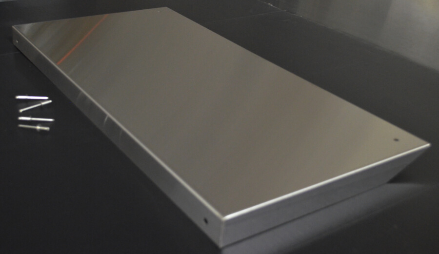 Stainless Steel Shelf Cover