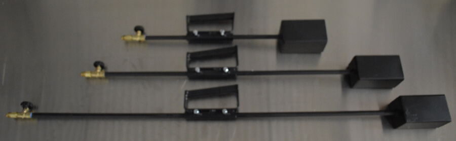 Magnum Head Propane Weed Burner - 24in 36in, or 48in lengths