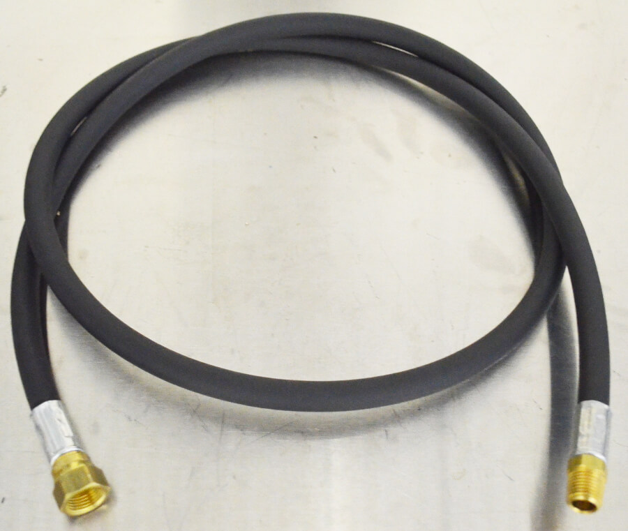 1/4in ID Standard Black High Pressure Thermoplastic Hose