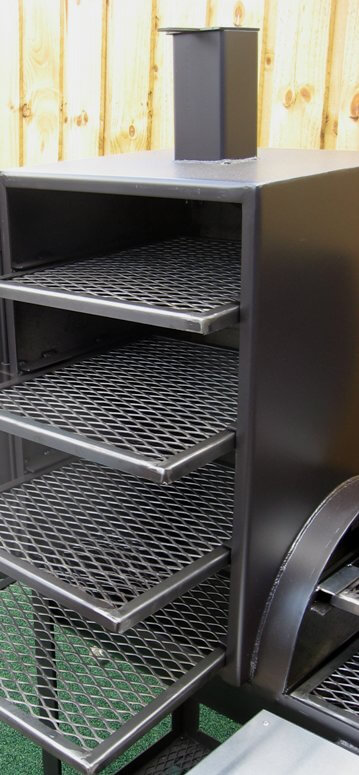 slide out shelves in vertical chamber are fully supported