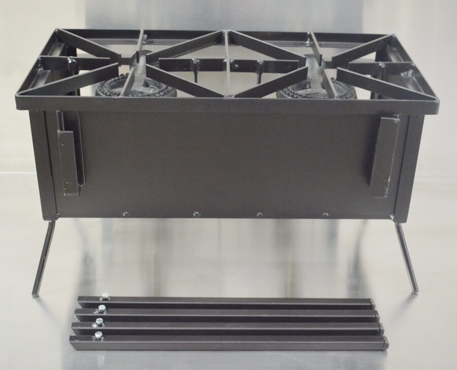 Double Burner Cooker Stand