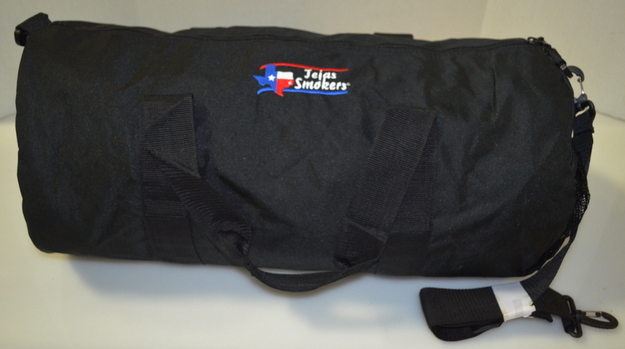 Tejas-Smokers-Duffel-Bag-with-Embroidered-Logo-in-Red-White-Blue