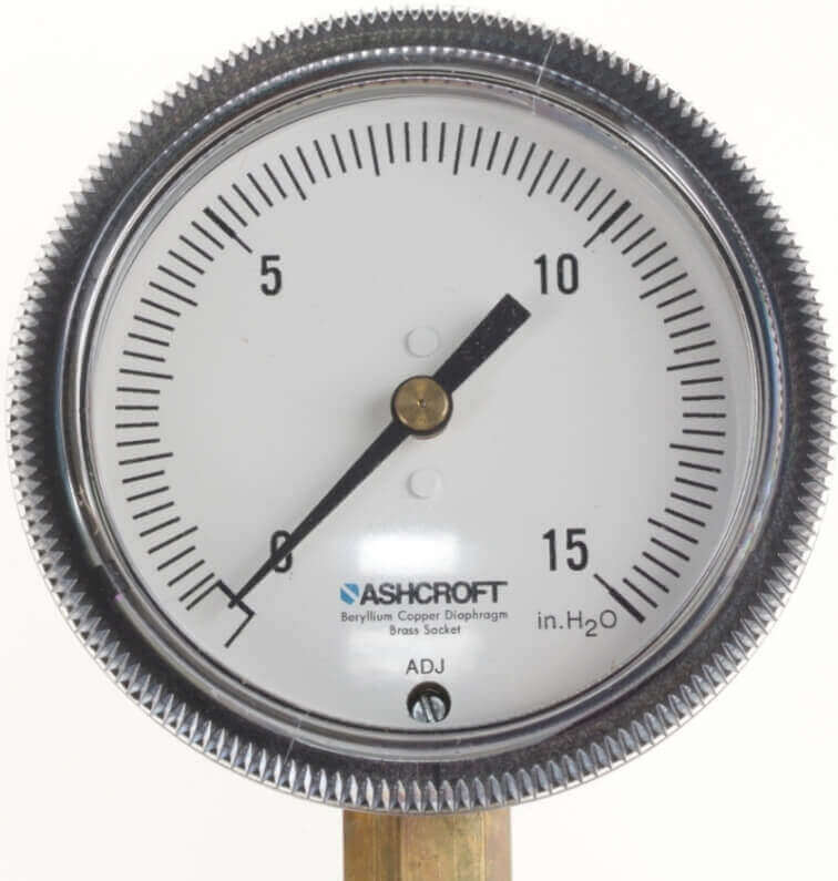Ashcroft Low Pressure Test Gauge