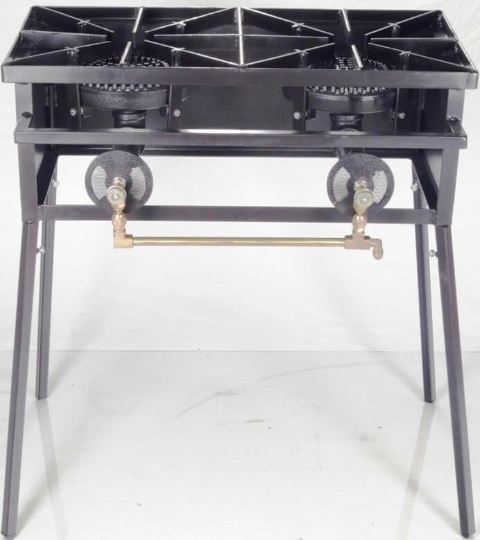 80,000 Btu/hr Double Burner Cooker Stand