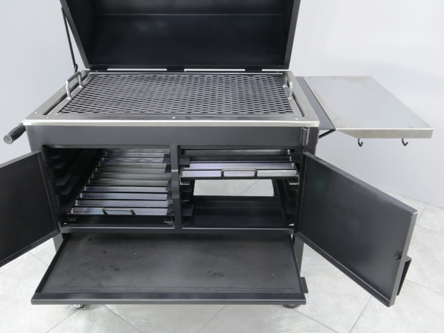 2436XL Fajita Grill Large Slide Out Ash Pan