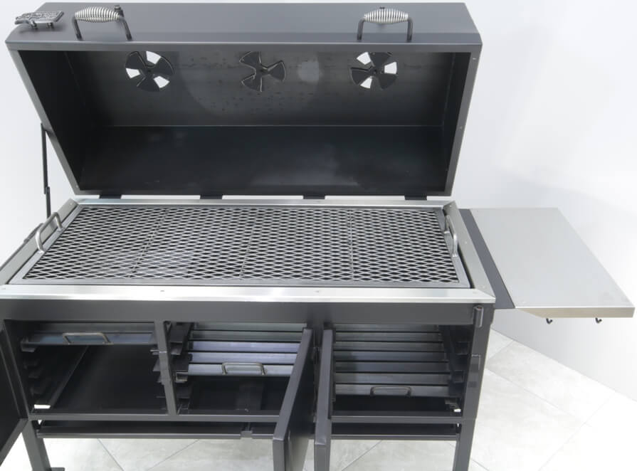 model 2454XL charcoal grill with large 12 inch high cover