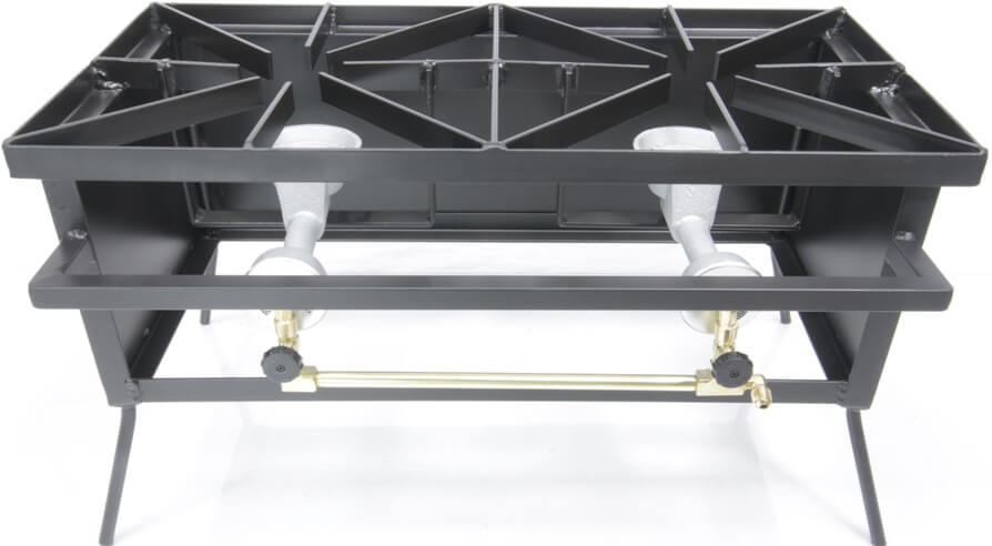 Dual Burner Cooker Stand