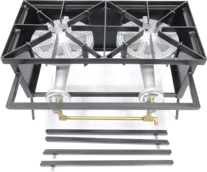 100,000 Btu/hr Double Burner Cooker Stand