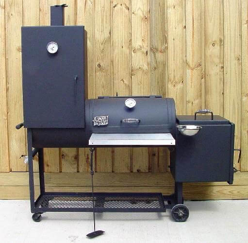 1628CC Deluxe smoker pit