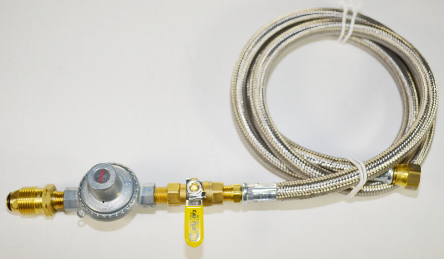COM1-UL with Optional Stainless Steel hose