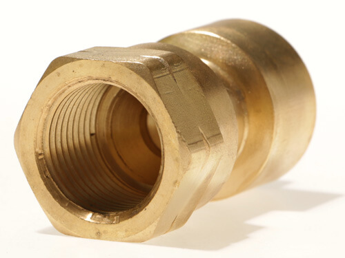 2097 - Female #600 Disposable Cylinder Adapter   1 x 20 TPI x Female POL