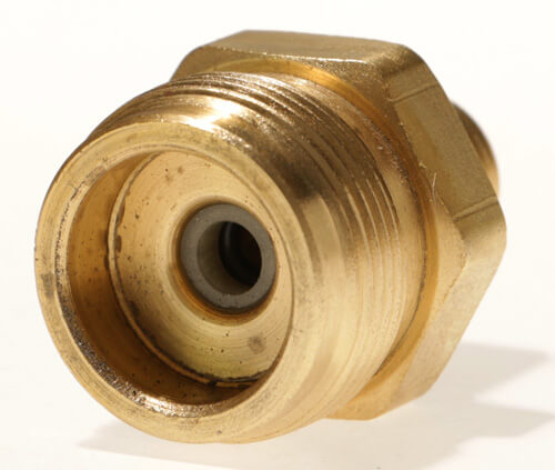 2096 - Male #600 Disposable Cylinder Adapter   1in Male x 20 TPI x 1/4inMale NPT