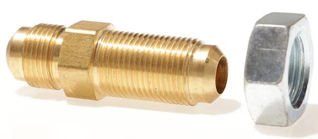 Male SAE Gas Flare x Male SAE Gas Flare (Bulkhead Union)